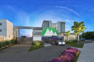 Apartamento com 2 dormitórios à venda, 43 m² por R$ 139.900 - Tindiquera - Araucária/PR