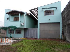 Galpão/Pavilhão a Venda no bairro Boqueirão em Curitiba - PR. 4 banheiros, 5 dormitórios, 5 vagas na garagem, 2 cozinhas.  - BAR-1672