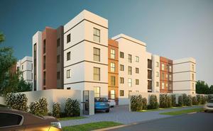 Apartamento com 2 dormitórios à venda, 45 m² por R$ 156.900 - Weissópolis - Pinhais/PR