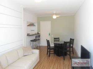 Apartamento com 1 dormitório para alugar, 45 m² por R$ 2.800,00/mês - Jardim Paulista - São Paulo/SP