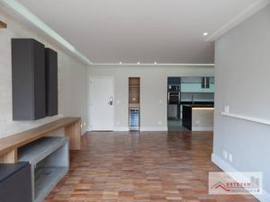 Apartamento com 2 dormitórios à venda, 100 m² por R$ 1.350.000 - Moema - São Paulo/SP