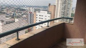 Apartamento com 4 dormitórios para alugar, 125 m² por R$ 3.800/mês - Parque da Mooca - São Paulo/SP