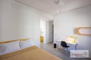 Studio com 1 dormitório para alugar, 20 m² por R$ 2.000/mês - Santa Cecília - São Paulo/SP