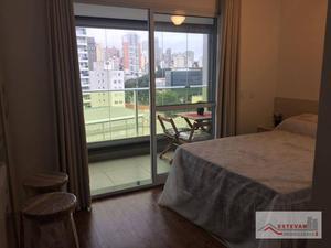 Studio com 1 dormitório para alugar, 25 m² por R$ 2.100,00/mês - Perdizes - São Paulo/SP