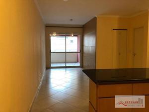 Apartamento com 1 dormitório para alugar, 67 m² por R$ 2.800,00 - Perdizes - São Paulo/SP