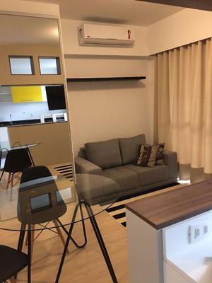 Flat residencial para locação, Campo Belo, São Paulo.