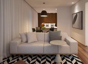 Apartamento com 1 dormitório para alugar, 95 m² por R$ 7.500/mês - Vila Olímpia - São Paulo/SP