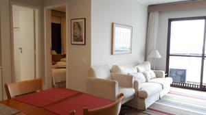 Flat com 2 dormitórios para alugar, 97 m² por R$ 6.500/mês - Cerqueira César - São Paulo/SP