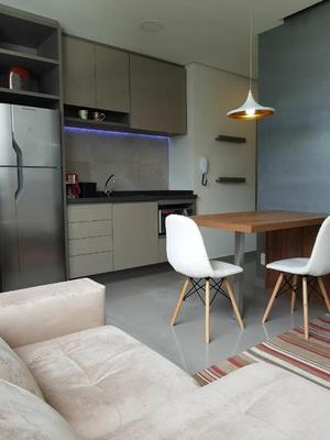 Apartamento com 1 dormitório para alugar, 38 m² por R$ 4.650/mês - Vila Nova Conceição - São Paulo/SP