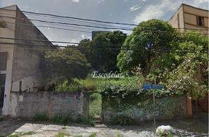 Terreno à venda, 750 m² por R$ 3.900.000,00 - Santa Terezinha - São Paulo/SP