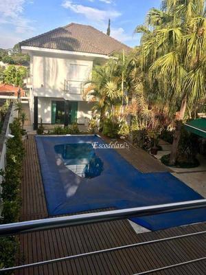 Sobrado com 5 dormitórios para alugar, 500 m² por R$ 9.000,00/mês - Tremembé - São Paulo/SP
