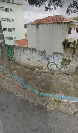 Terreno à venda, 210 m² por R$ 500.000,00 - Vila Albertina - São Paulo/SP