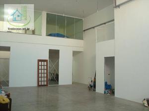 Galpão comercial para locação, Jardim Luanda, São Paulo.
