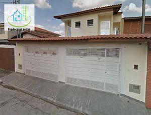 Confortável Sobrado, 3 Dorm, 4 Vagas, 140 M² - Campo Grande - São Paulo.