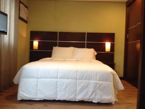 Flat 1 dormitorio, 1 vaga de garagem para venda na Chacara Santo Antonio