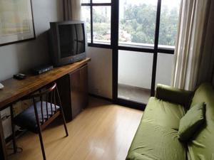 Flat 1 quarto 1 garagem para venda no Morumbi em são paulo sp