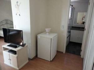 Flat 1 quarto 1 garagem para alugar em pinheiros são paulo sp