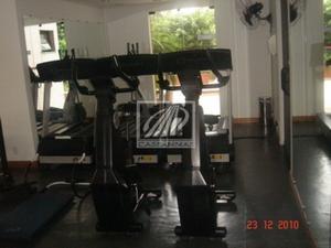 Flat no Brooklin para venda, 2 quartos, 2 garagem