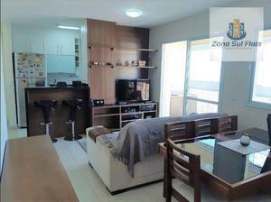Apartamento Mobiliado à Venda No Jardim da Saúde I 2 Dormitórios Sendo 1 Suíte I Varanda I 68m² I 2 vagas
