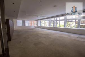 Excelente Sala Comercial Para Locação Na Vila Olímpia I 204m² I 5 Vagas I Excelente Condomínio