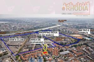 Terreno 463 m²  - Santo Amaro -Metrô, CPTM, Shopping Nova 25 de Março e Sam's Club.