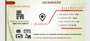 Galpão Industrial na Pena São Paulo.