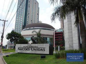Meia laje corporativa para locação, Brooklin, São Paulo - CJ1520.