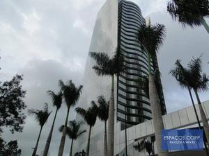 Laje para alugar, 487m²- Santo Amaro - São Paulo/SP