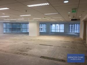 Laje corporativa para alugar, 1288m² - Brooklin - São Paulo/SP