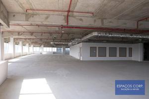 Laje corporativa para alugar, 2.150m² - Chácara Santo Antônio - São Paulo/SP