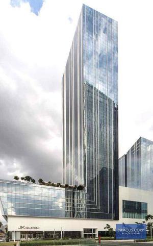 Laje corporativa para alugar, 678m² - Vila Olímpia - São Paulo/SP