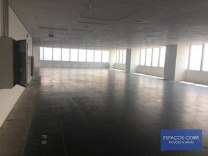 Laje corporativa para alugar, 11.248m² - Brooklin - São Paulo/SP