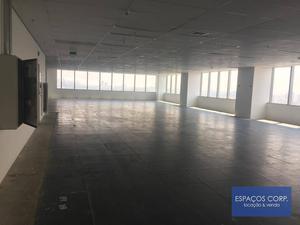 Laje corporativa para alugar, 7466m² - Brooklin - São Paulo/SP