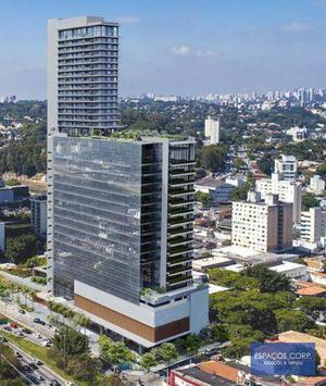 Laje corporativa para alugar, 7305m² - Butantã - São Paulo/SP