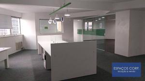 Laje comercial, 395m² - venda por R$ 4.345.000 ou aluguel por R$ 20.500/mês - Vila Olímpia - São Paulo/SP
