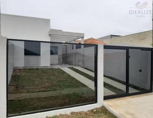 Casa com 03 dormitórios - Anexo a BR 376.