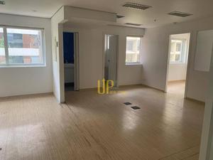 Conjunto para alugar, 120 m² por R$ 7.500/mês - Vila Olímpia - São Paulo/SP