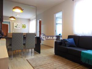 Apartamento com 3 dormitórios à venda, 54 m² por R$ 149.900,00 - Jardim Esmeralda - Colombo/PR