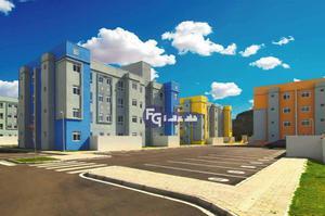 Apartamento com 2 dormitórios à venda, 41 m² por R$ 138.500,00 - Tindiquera - Araucária/PR