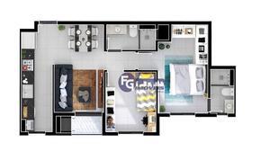 Apartamento com 2 dormitórios à venda, 49 m² por R$ 174.000,00 - Centro - Araucária/PR