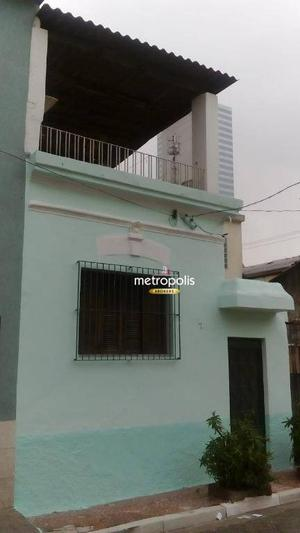 Casa com 2 dormitórios à venda por R$ 370.000 - Sé - São Paulo/SP