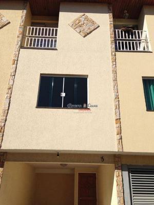 Sobrado com 2 dormitórios à venda por R$ 300.000 - Jardim Pe