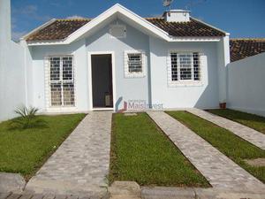Casa com 3 dormitórios à venda, 80 m² por R$ 340.000 - Guaraituba - Colombo/PR