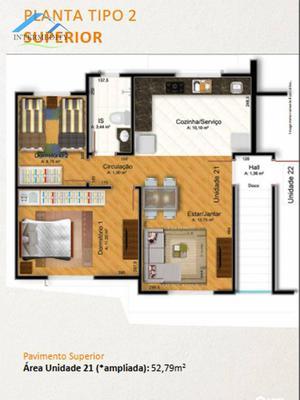 Apartamento com 2 dormitórios à venda, 42 m² por R$ 132.000,00 - Costeira - Araucária/PR