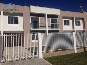 Sobrado com 3 dormitórios à venda, 91 m² por R$ 290.000,00 - Tindiquera - Araucária/PR
