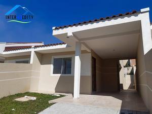 Casa com 3 dormitórios à venda, 72 m² por R$ 235.000,00 - Thomaz Coelho - Araucária/PR