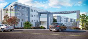Apartamento com 2 dormitórios à venda, 38 m² por R$ 137.900,00 - Campina da Barra - Araucária/PR