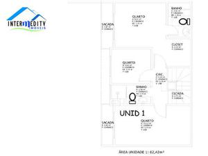 Sobrado com 3 dormitórios à venda, 82 m² por R$ 260.000 - Cidade Industrial - Curitiba/PR