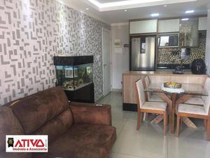 Apartamento com 3 dormitórios à venda, 62 m² por R$ 420.000,00 - Sacomã - São Paulo/SP